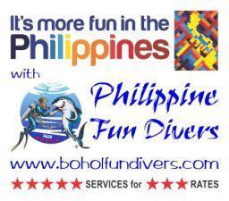 Bohol fun divers Panglao Island Bohol Philippines